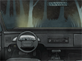 Flucht aus dem Auto