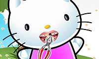 Hello Kitty: dientes perfectos