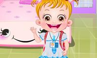 La bebé Hazel: higiene