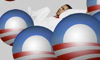 Falling Obama