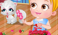 La bebé Hazel: San Valentín