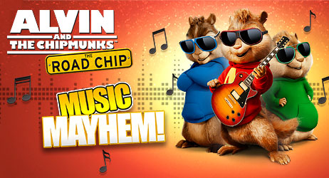 Alvin and the Chipmunks: Music Mayhem!                                     data-index=