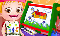 Baby Hazel: lezione sui colori
