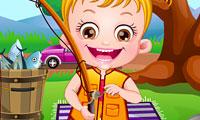 Baby Hazel: vissen