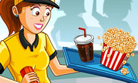 Cinema Rush: Serving Food Game