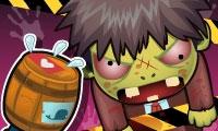 L'homme tonneau contre les zombies