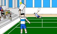 Tennis de poupées de chiffon
