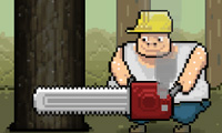 Chainsaw Chuck: Cutting Trees Game