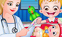 Hero BFFs: Pregnant Check - Baby Game