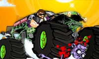 Monstertruck: zombies platwalsen