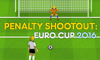 Penalty Shootout: Euro Cup 2016 - Football Game