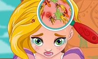 Dottore dei capelli per Rapunzel