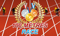 100 Meter Race: Dash Game