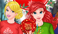 Princess Christmas Rivals