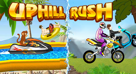 Uphill Rush-Spiele
