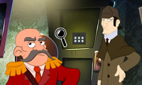 Sherlock Has a Clue: Detective Game