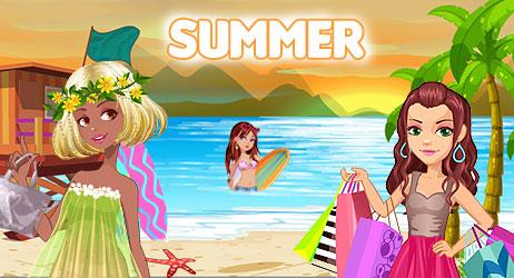 Summer Dress Up Games for Girls