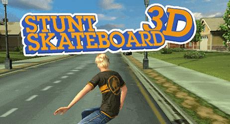 Skateboard à stunts 3D