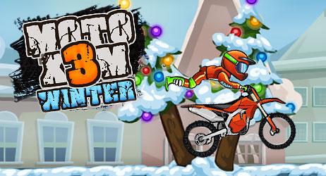 Moto X3M: Winter - Motorbike Game
