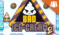 Bad Ice Cream 2: 2 Player Game