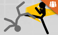 Stickman League: 2 Player Fighting Game