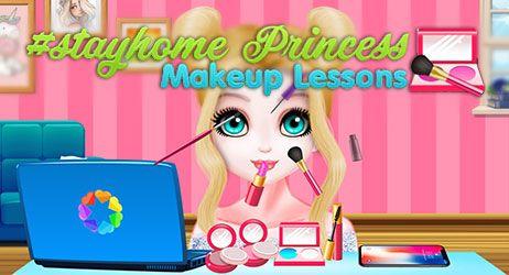 #StayHome Princess: Makeup Lessons