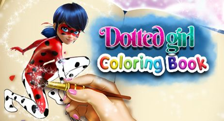 Dotted Girl: Coloring Book