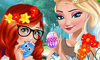 Princesses Easter Preparation