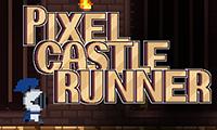 Бегущий по пиксельному замку