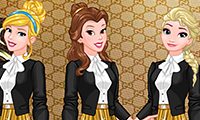 Princesses Fashion Brands Favorite: Dress Up Game