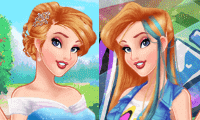 Princesses: Freaky vs Pretty - Dress Up Game