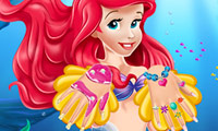 The Little Mermaid Ariel: Nails Salon