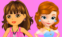 Dora and Sofia: Beauty Contest
