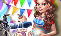 Pregnant games for girls play free give birth