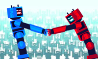 Get on Top Mobile: Robot Multiplayer Game