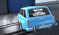 Russian Off-Road Pickup Driver: 3D Truck Game