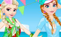 Elsa vs Anna: Bikini Contest