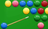 Bubble shooter: pool