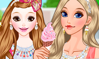 Ice Cream Girls Makeover