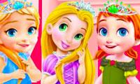 Das Zimmer der Baby-Prinzessinnen