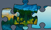 Jigsaw Puzzle: Beautiful View
