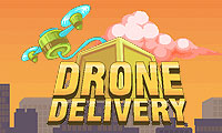 Drone Delivery by Claudio Souza Mattos