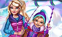 Princesas: Diversión de invierno