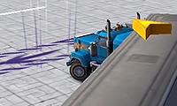 Estacionando camiones de carga en 3D