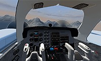 Free Flight Sim: 3D Airplane Simulator Game