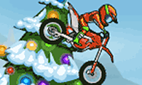 Moto X3M: Winter - Motorbike Game