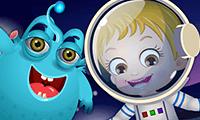 El amigo alienígena de la bebé Hazel