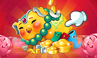 Lucky Gold Piggies