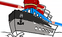 Coloring Book: Boats