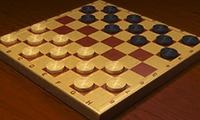 Master Checkers: 2 Player Game